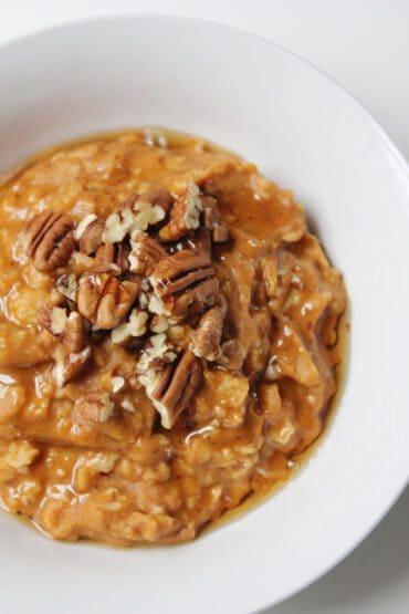 Pumpkin Flax Oatmeal