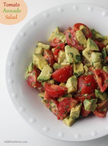 Tomato Avocado Salad