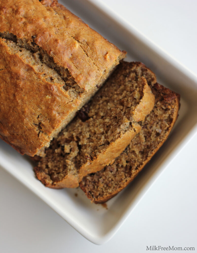 Dairy-Free Banana Nut Raisin Bread