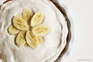 Dairy-Free Banana Pudding Pie