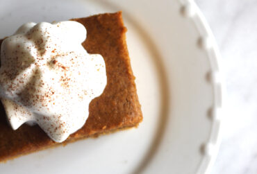 Vegan Dairy Free Pumpkin Cake