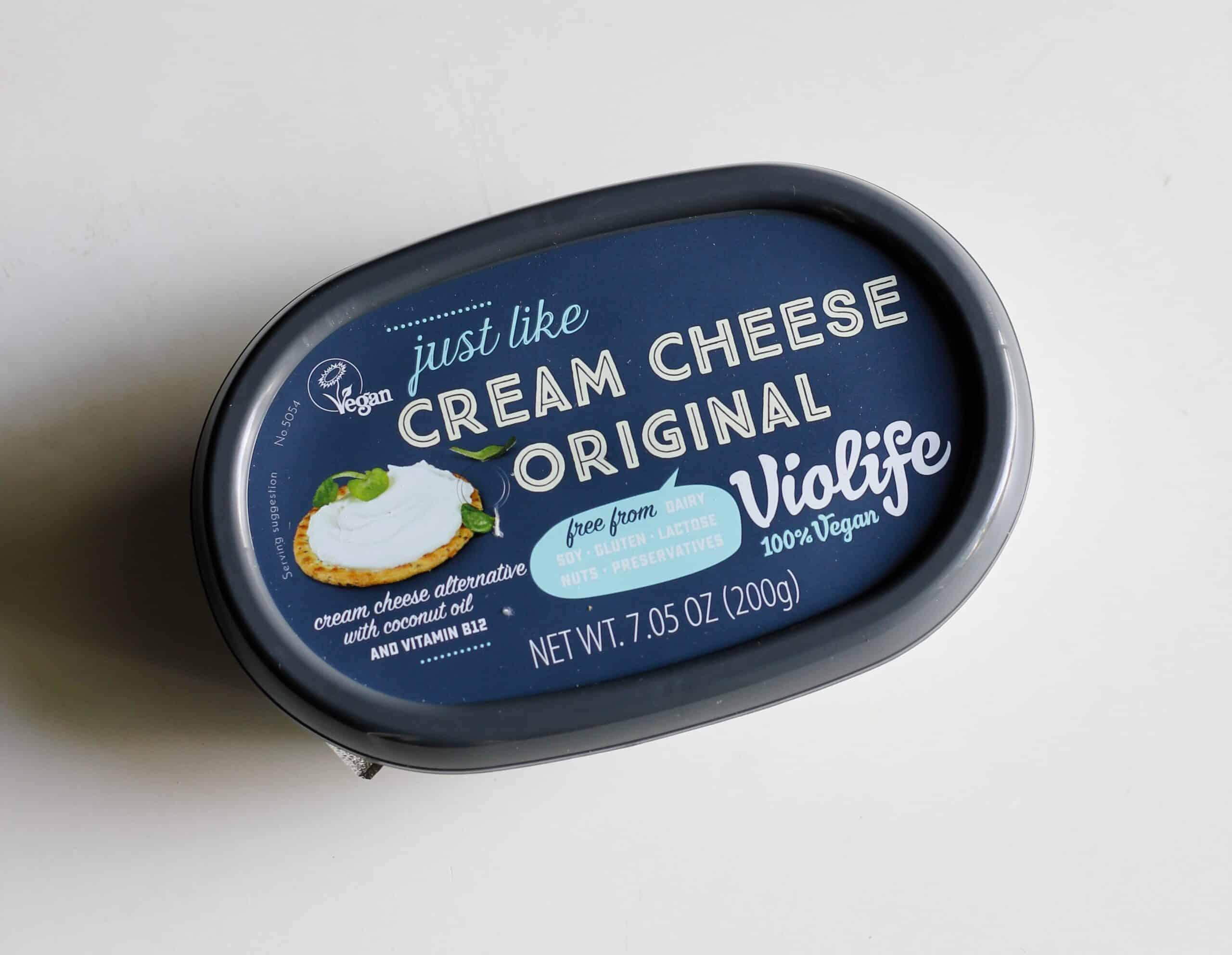 dairy free cream cheese
