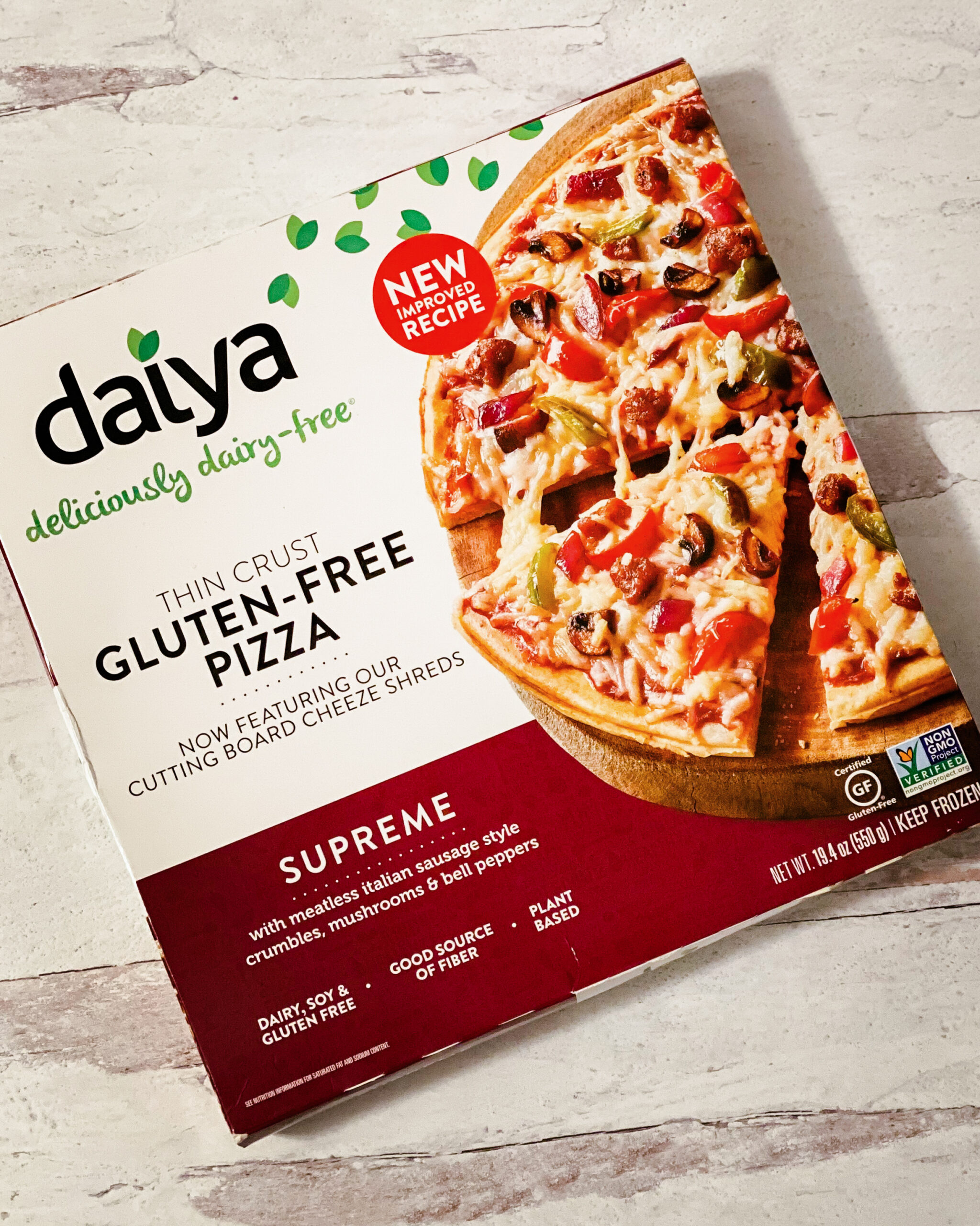 dairy free pizza