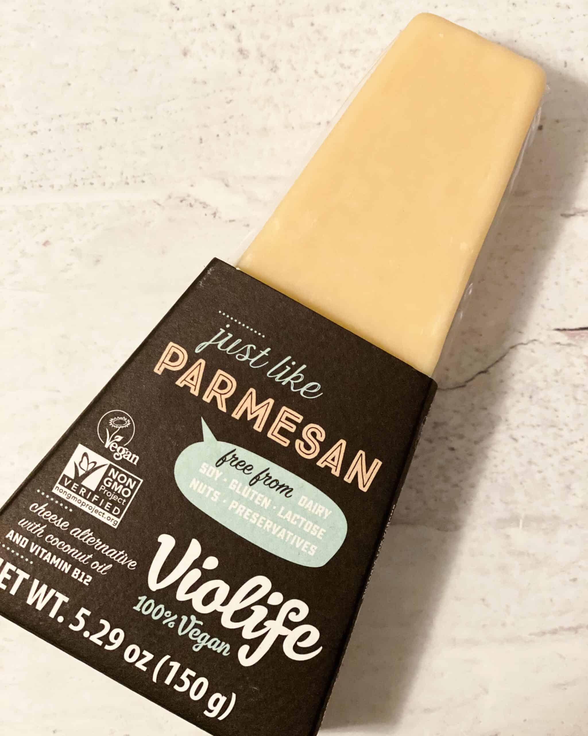 dairy free parmesan