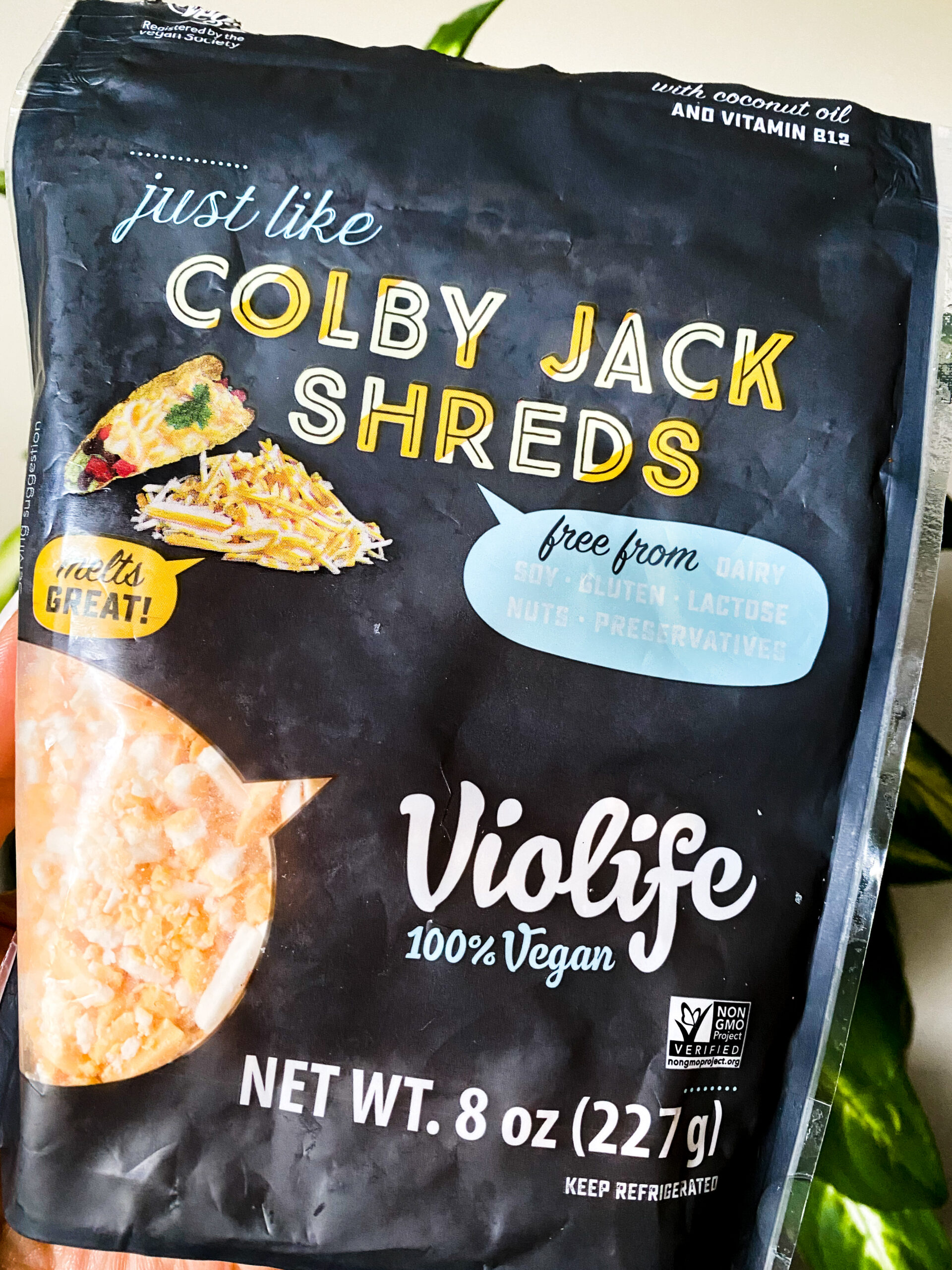 dairy free colby jack shredded cheese