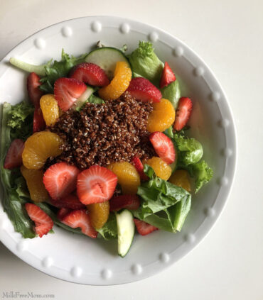 Dairy Free Citrus Salad With Quinoa
