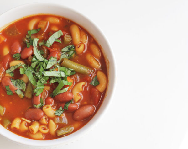 dairy free minestrone soup