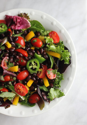Vegan Spicy Salad