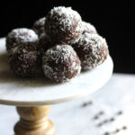 Vegan Chocolate Coconut Balls