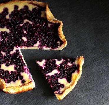 Dairy Free Blueberry Cheesecake