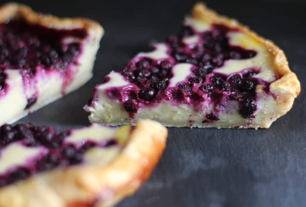 diary free cheesecake tart