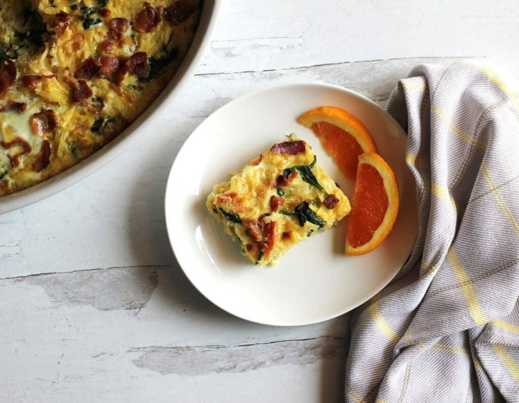 dairy free egg casserole