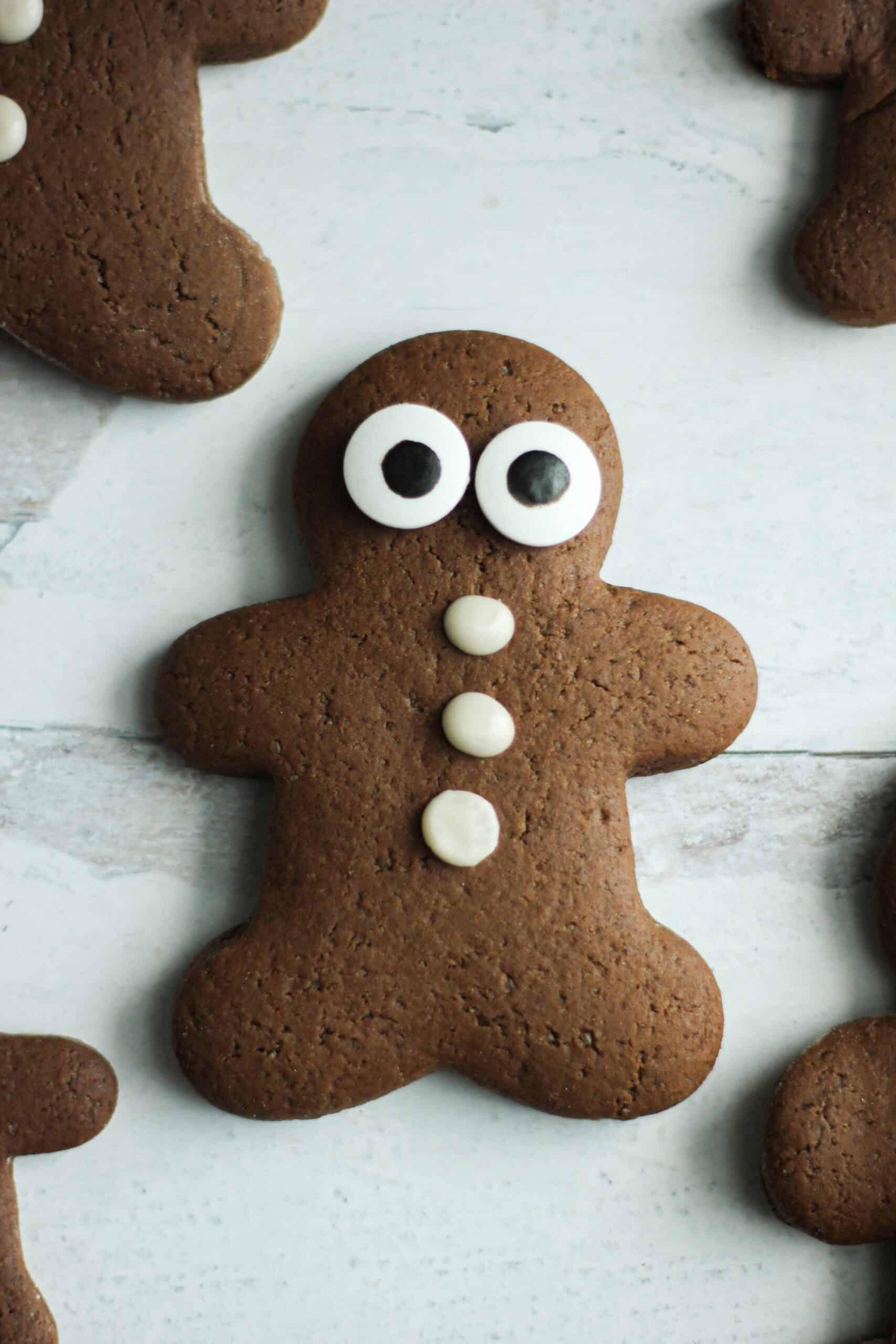 Dairy Free Gingerbread Cookies