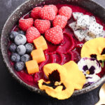Dairy Free Dragonfruit Smoothie Bowl